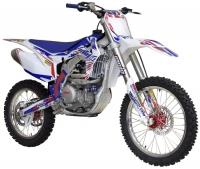 Кроссовый мотоцикл BSE J5-450e S-PRO 21/18 M8